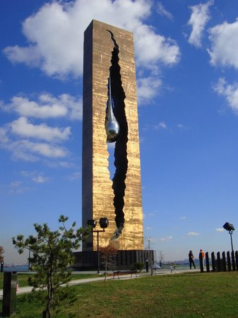 """To the Struggle Against World Terrorism"" monument"
