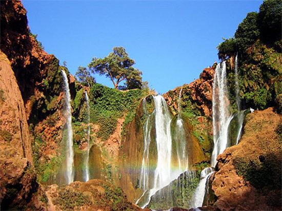 Kazablanka, Fas: Ouzoud waterfalls