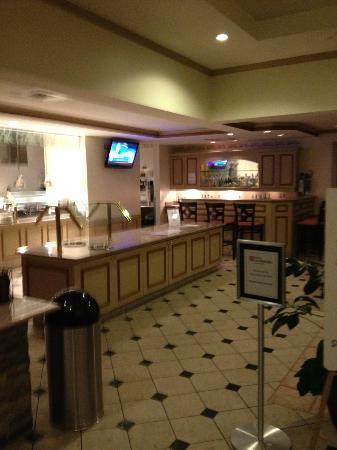 Hilton Garden Inn Tampa North : Frühstücksbereich
