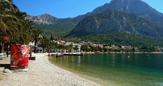 Gradac, Croatia: Beautiful beaches ...