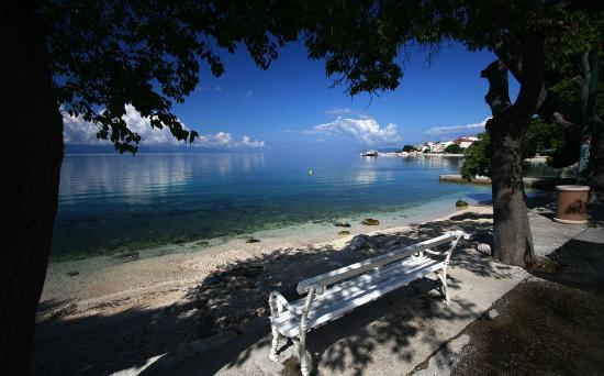 Gradac, Croatia: Beach