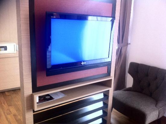 Hotel Richbaliz: Clear LCD TV for entertainment