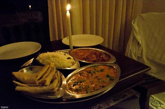 Greeshmam Resort: dinner, day1