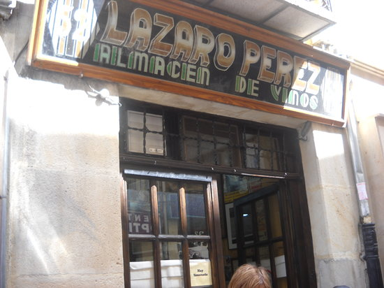 Vinos Lazaro: La tasca del