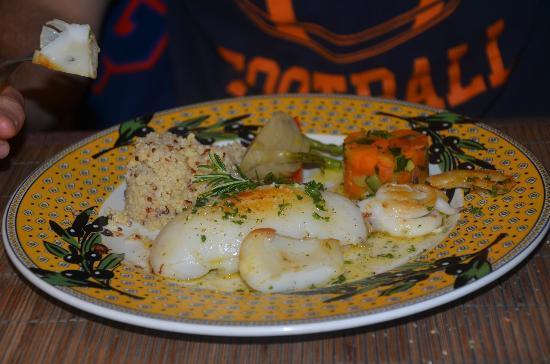 Hotel Mas de Peint: Dinner