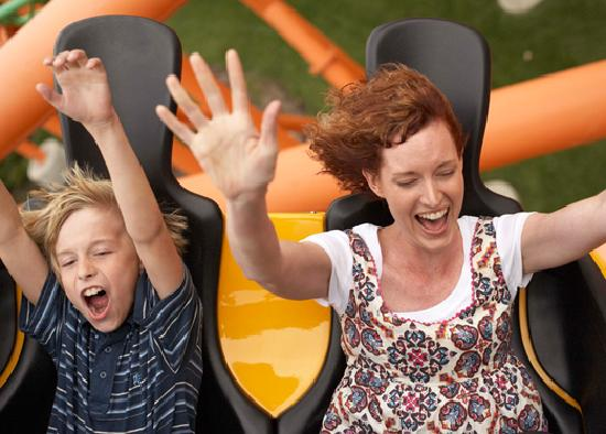 Massachusetts: Pandemonium Coaster at Six Flags, Agawam