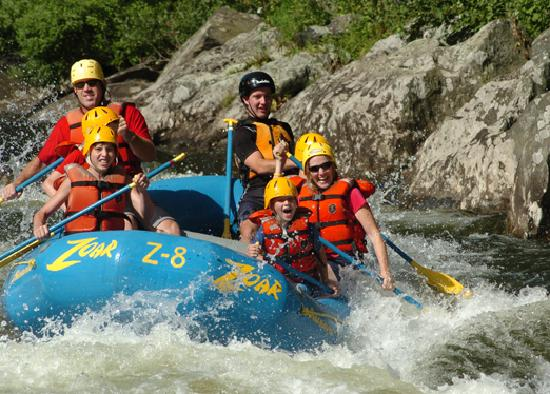 Massachusetts: Whitewater Rafting at Zoar Outdoor, Charlemont