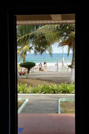 Busua Waves Resort: View from our room
