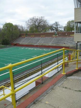 Atwood Stadium: West end