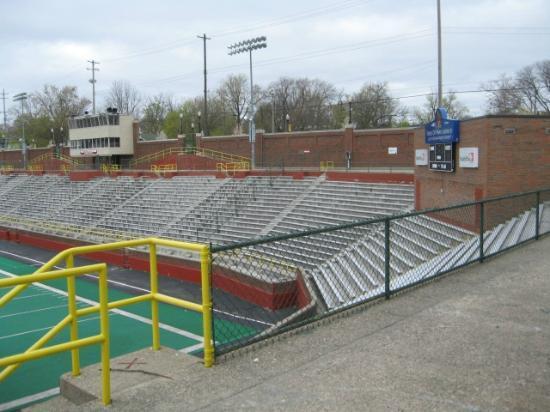 Atwood Stadium: Main seating