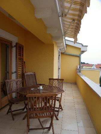 Villa Zubcic: Balcony