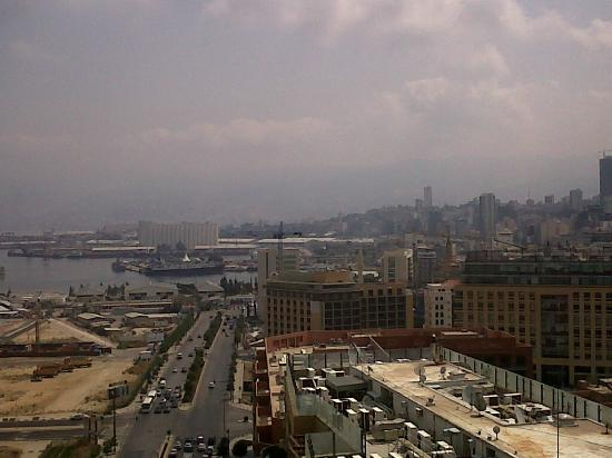 Four Seasons Hotel Beirut: view looking north