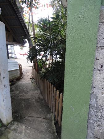 Tierra Azul Alona Beach House: Pathway to the beach