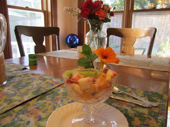 Albion Inn: Fruit cup