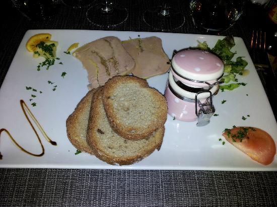 Le Champlain: Foie Gras et confiture de figues