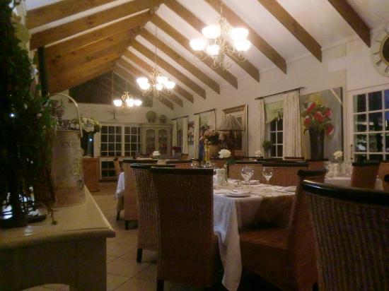 Fynbos Gourmet Restaurant: the restaurant