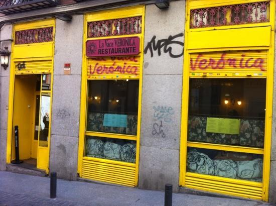 L esterno del ristorante picture of laveronica madrid for L esterno del ristorante sinonimo