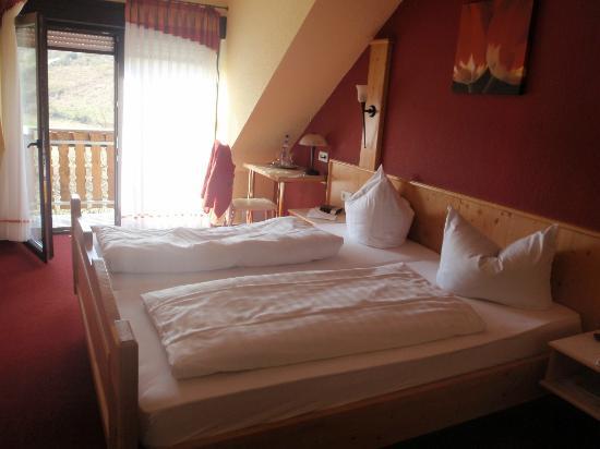 Landhotel Lembergblick: Our room (Room 201)