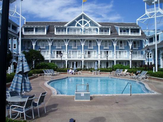 Disney's Beach Club Resort: Pool Area