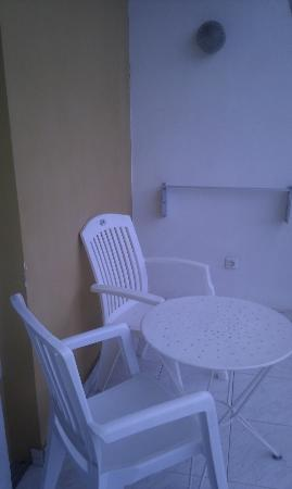 La Carabela Apartments: Our Balcony Rm 307