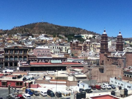 Casa Torres Hotel: vista desde la terraza del restaurant