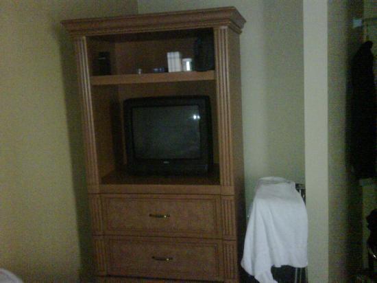 Legacy Vacation Resorts-Lake Buena Vista: Esta es la televisión de la recamara