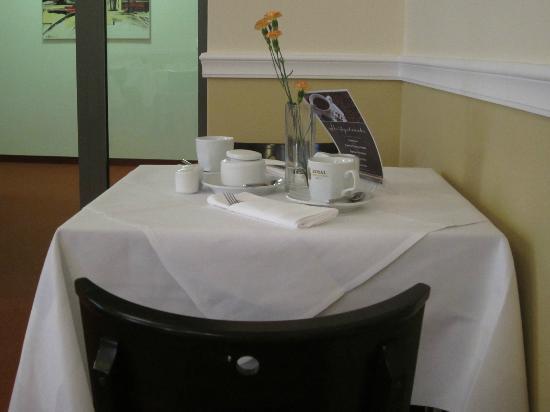 Royal International Leipzig: Table for two
