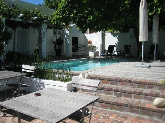 Ashbourne House Guest House: Shaded pool area