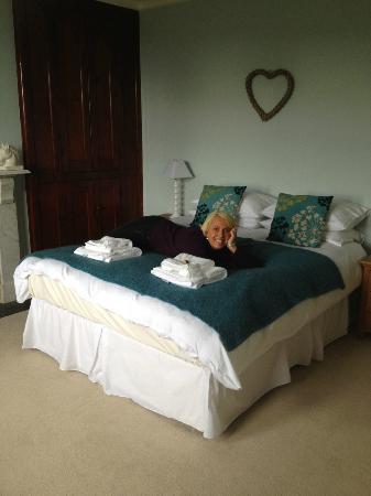 Saxon Villa: Lovely comfy bed