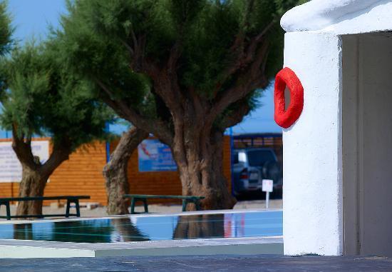Hotel Sun Beach Lindos: BEACH!