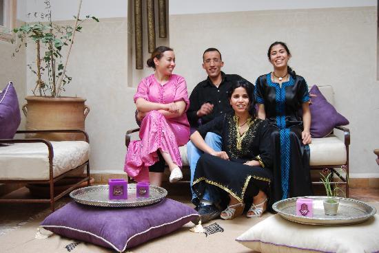 Riad Princesse Jamila: NOTRE EQUIPE