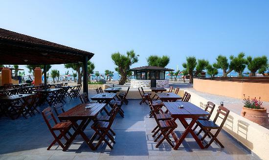 Hotel Sun Beach Lindos: RESTAURANT!