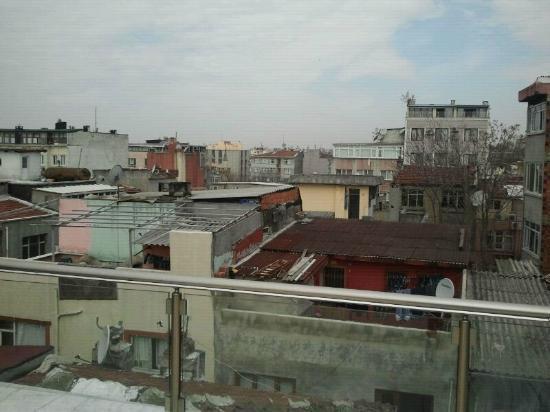 May Hotel Istanbul: Terrassenaussicht