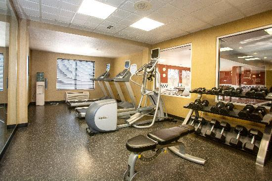 Fairfield Inn & Suites by Marriott Detroit Livonia: Exercise Room with Precor Equipment available 24 hours