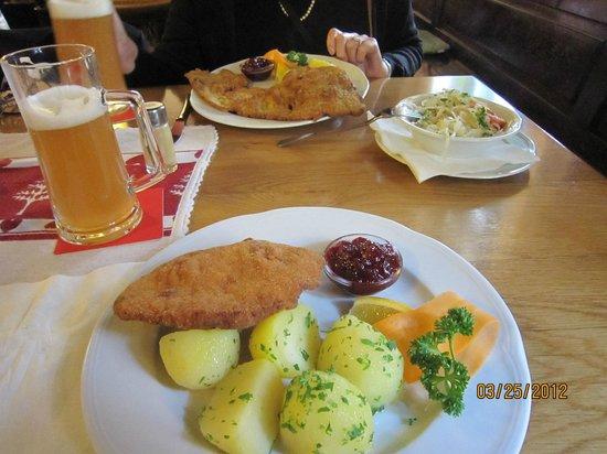 Gasthaus Wilder Mann: Our lunch