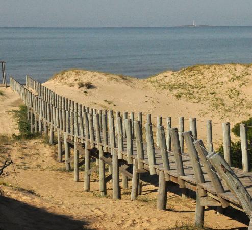 Il Belvedere: camino a la playa