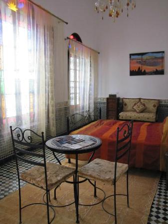 Dartouria : notre chambre !!