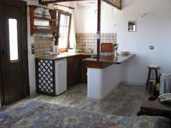 Hotel Castillio : the kitchenette of apartement