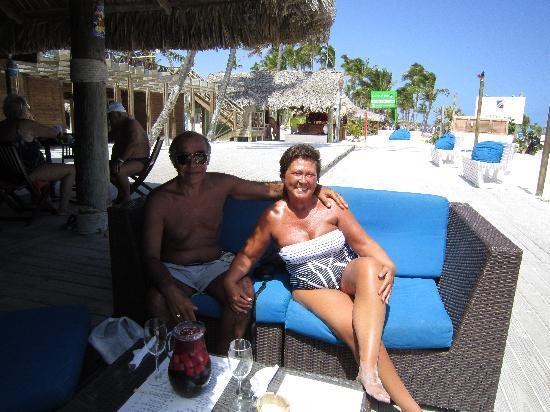 "Villas Los Corales: "" bar de playa bibijagua""P.Cana"