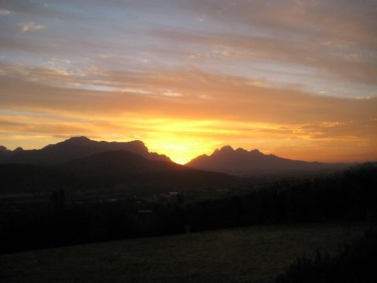 Sunset viewed from Dieu Donne