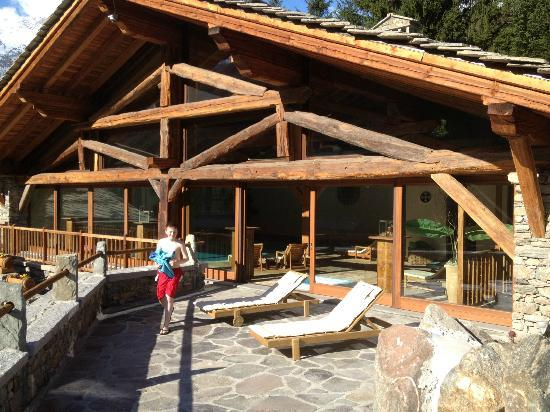 Au Coeur des Neiges: The wellness centre