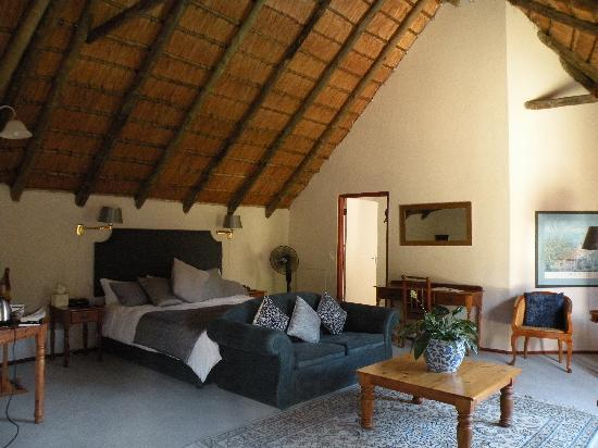 Thatchfoord Lodge: The room