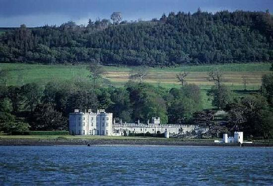 Knights Haven: Glin Castle from Shannon River