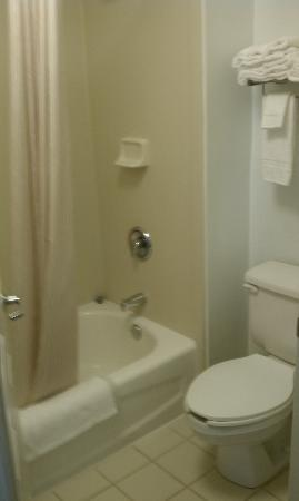 Extended Stay America - Columbia - Northwest/Harbison: THE BATHROOM