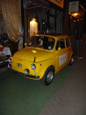 """Benedicto's: The Fiat 500 """"Giannini"""" that was outside"""