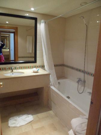 Hotel Laico Hammamet : salle de bain
