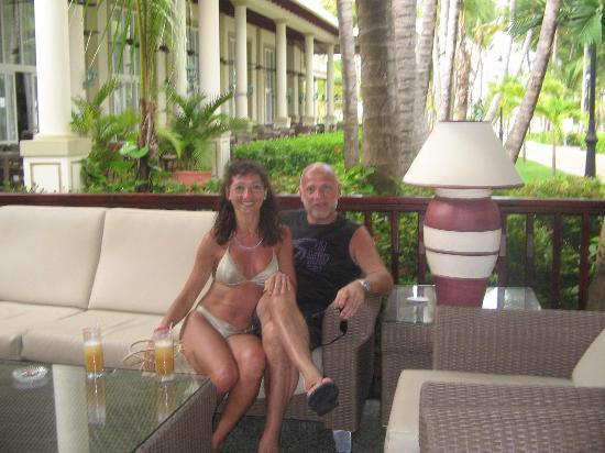 ClubHotel Riu Bambu : dafne en nuestra habitacion
