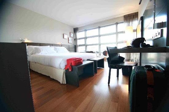 Hotel Reina Petronila: Vista frontal