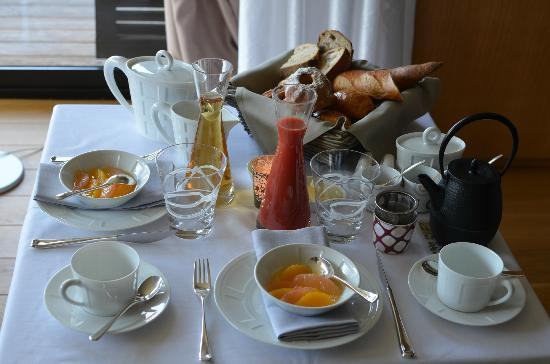 Hotel K: Petit déjeuner