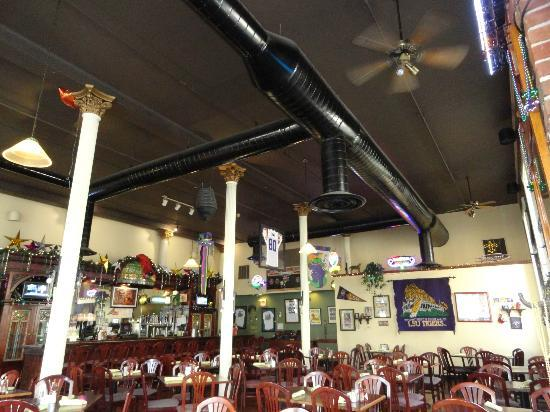 Boudreaux's Louisiana Seafood: Inside Boudreax's Cajun Restaurant (the food is Great!!).